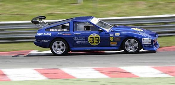 Photo of Tim Broughton's car