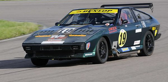Photo of Pete Reeve's car
