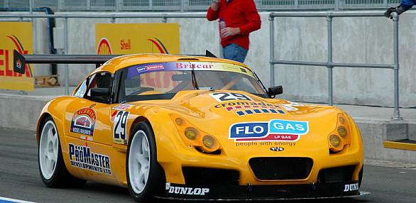 Photo of Tim Hood's car