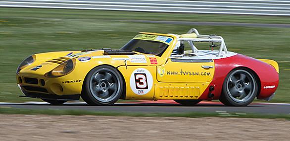 Photo of Hugh Marshall's car