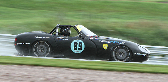 Photo of Andy Race's car